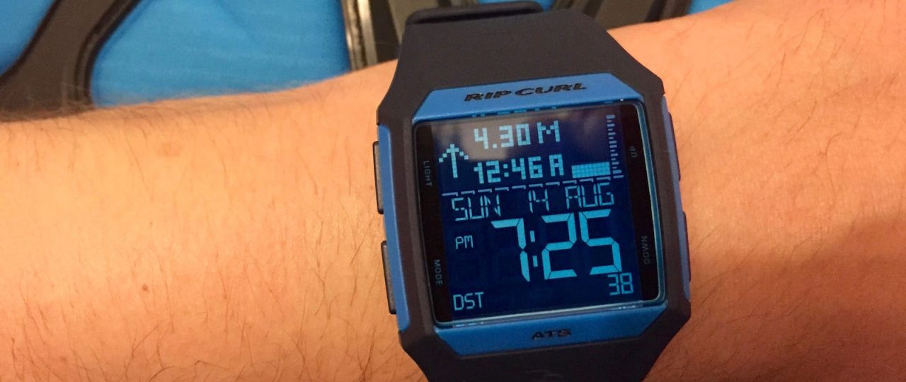 Rip Curl Rifles Tide Watch Review